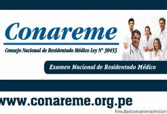 Resultados Residentado Médico CONAREME