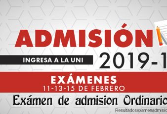 Resultados Primer Examen UNI 2018-2 Universidad Nacional de Ingeniería