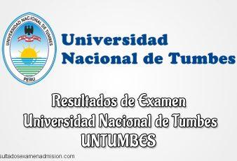 Resultados Examen UNTUMBES Universidad Nacional de Tumbes