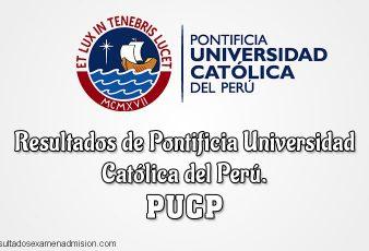 Resultados examen admisión PUCP