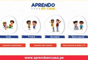 www.aprendoencasa.pe Clases Virtuales
